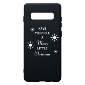 Samsung S10+ Case Have yourself a merry little Christmas