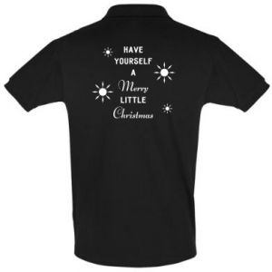 Men's Polo shirt Have yourself a merry little Christmas