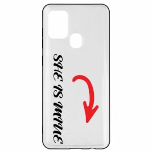 Samsung A21s Case He's mine