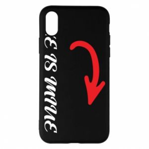 Phone case for iPhone X/Xs He's mine