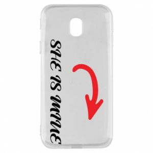 Phone case for Samsung J3 2017 He's mine