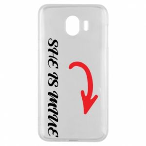 Phone case for Samsung J4 He's mine
