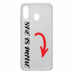 Phone case for Samsung A20 He's mine