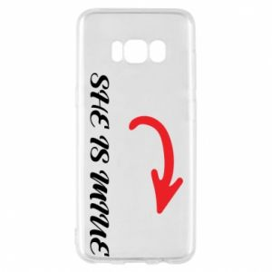 Phone case for Samsung S8 He's mine