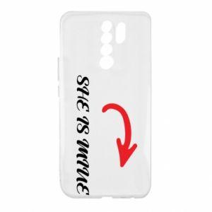 Xiaomi Redmi 9 Case He's mine