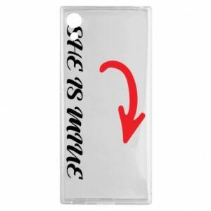 Sony Xperia XA1 Case He's mine