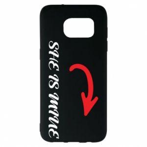 Samsung S7 EDGE Case He's mine