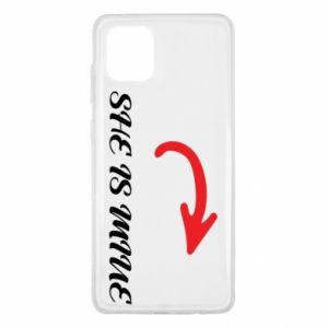 Samsung Note 10 Lite Case He's mine