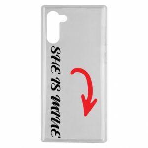 Samsung Note 10 Case He's mine