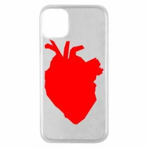 Etui na iPhone 11 Pro Heart abstraction