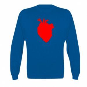 Bluza dziecięca Heart abstraction