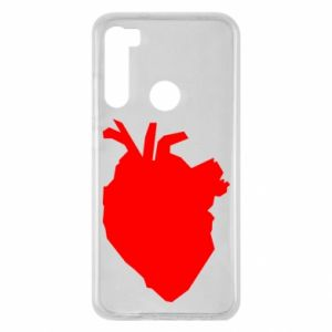 Etui na Xiaomi Redmi Note 8 Heart abstraction