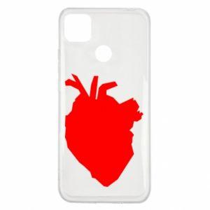 Etui na Xiaomi Redmi 9c Heart abstraction