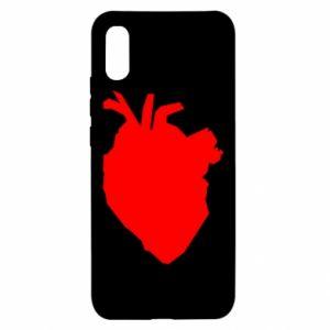 Etui na Xiaomi Redmi 9a Heart abstraction