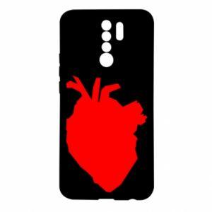 Etui na Xiaomi Redmi 9 Heart abstraction