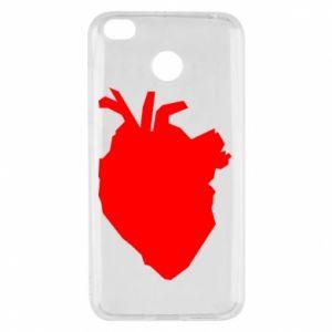 Etui na Xiaomi Redmi 4X Heart abstraction