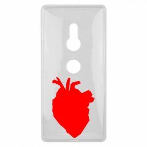 Etui na Sony Xperia XZ2 Heart abstraction