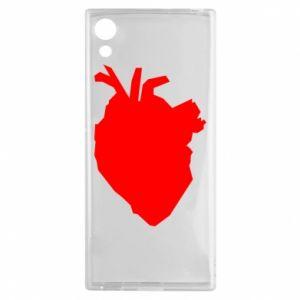 Etui na Sony Xperia XA1 Heart abstraction