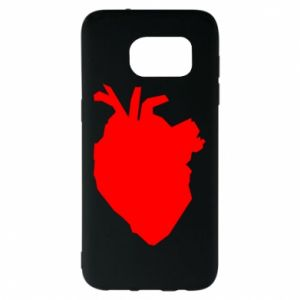 Etui na Samsung S7 EDGE Heart abstraction