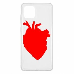 Etui na Samsung Note 10 Lite Heart abstraction