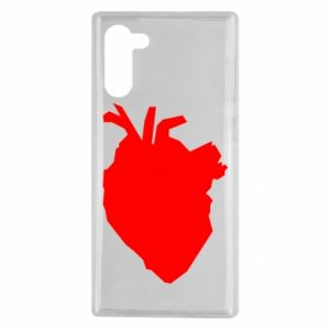 Etui na Samsung Note 10 Heart abstraction