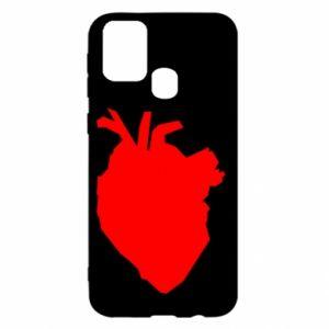 Etui na Samsung M31 Heart abstraction