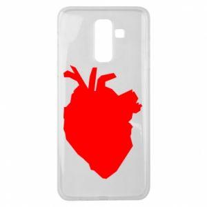Etui na Samsung J8 2018 Heart abstraction