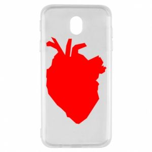 Etui na Samsung J7 2017 Heart abstraction