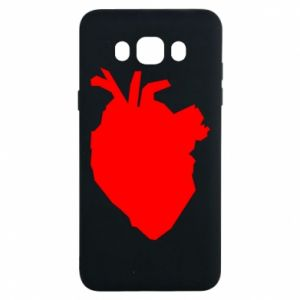 Etui na Samsung J7 2016 Heart abstraction