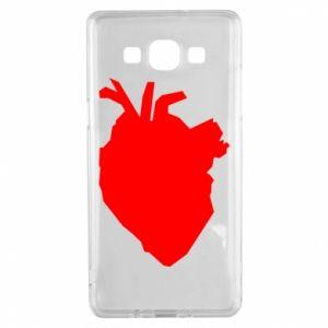 Etui na Samsung A5 2015 Heart abstraction