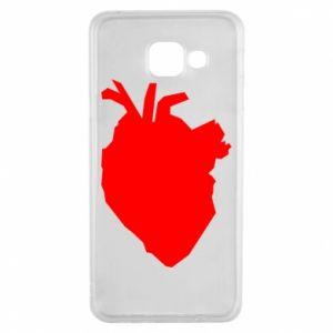 Etui na Samsung A3 2016 Heart abstraction