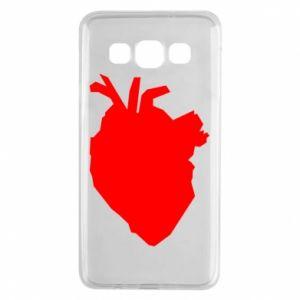 Etui na Samsung A3 2015 Heart abstraction