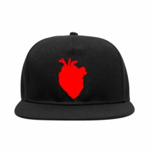 Snapback Heart abstraction