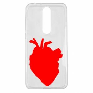 Etui na Nokia 5.1 Plus Heart abstraction