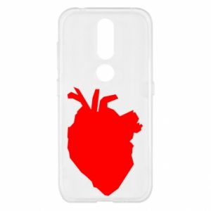 Etui na Nokia 4.2 Heart abstraction