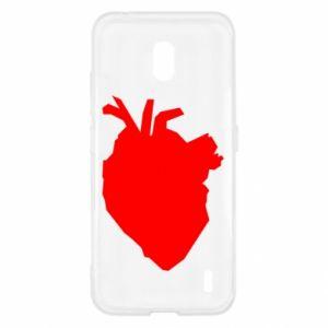 Etui na Nokia 2.2 Heart abstraction