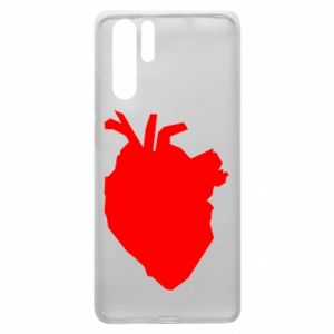 Etui na Huawei P30 Pro Heart abstraction