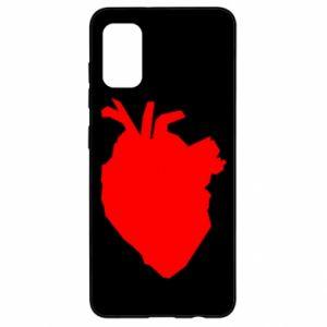 Etui na Samsung A41 Heart abstraction
