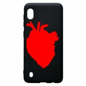 Etui na Samsung A10 Heart abstraction