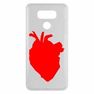 Etui na LG G6 Heart abstraction