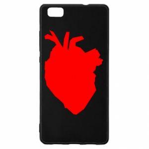 Etui na Huawei P 8 Lite Heart abstraction