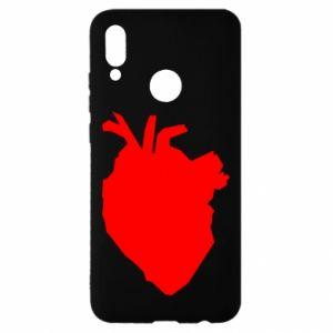 Etui na Huawei P Smart 2019 Heart abstraction