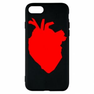 Etui na iPhone SE 2020 Heart abstraction