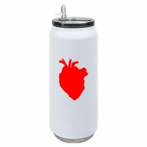 Puszka termiczna Heart abstraction