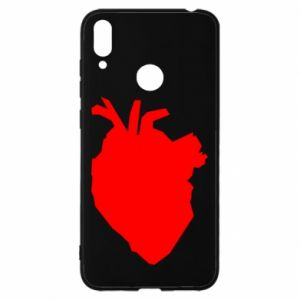 Etui na Huawei Y7 2019 Heart abstraction