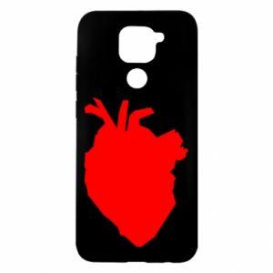 Etui na Xiaomi Redmi Note 9/Redmi 10X Heart abstraction