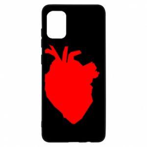 Etui na Samsung A31 Heart abstraction