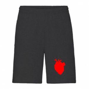 Szorty męskie Heart abstraction