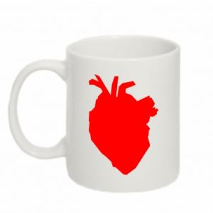 Kubek 330ml Heart abstraction
