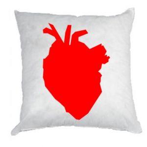 Poduszka Heart abstraction